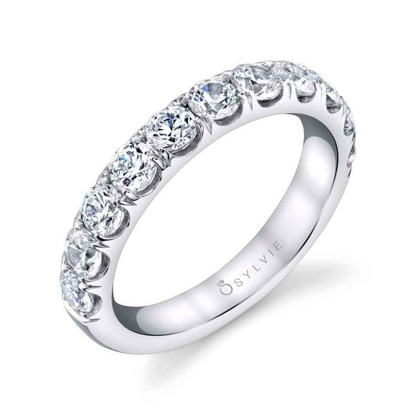 Diamond Wedding Band Blue Water Jewelers Saint Augustine, FL