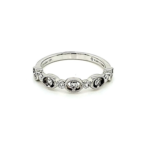 Forevermark Wedding Band Blue Water Jewelers Saint Augustine, FL