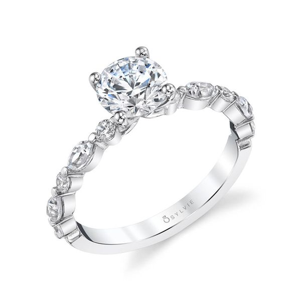 Diamond Engagement Ring Blue Water Jewelers Saint Augustine, FL