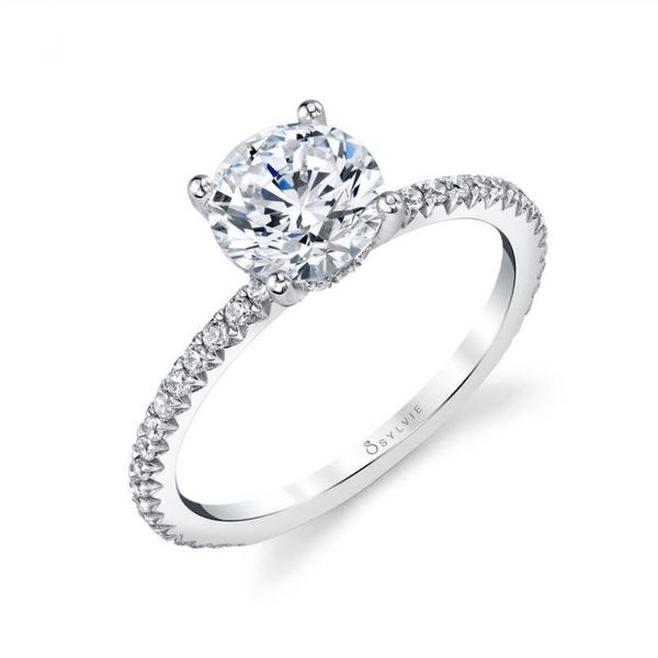 Classic Diamond Engagement Ring Blue Water Jewelers Saint Augustine, FL