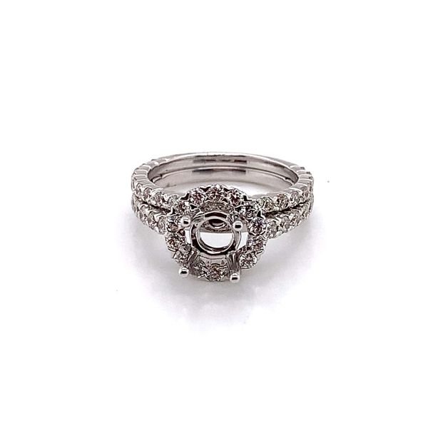 Forevermark Diamond Semi-Mount Ring Blue Water Jewelers Saint Augustine, FL