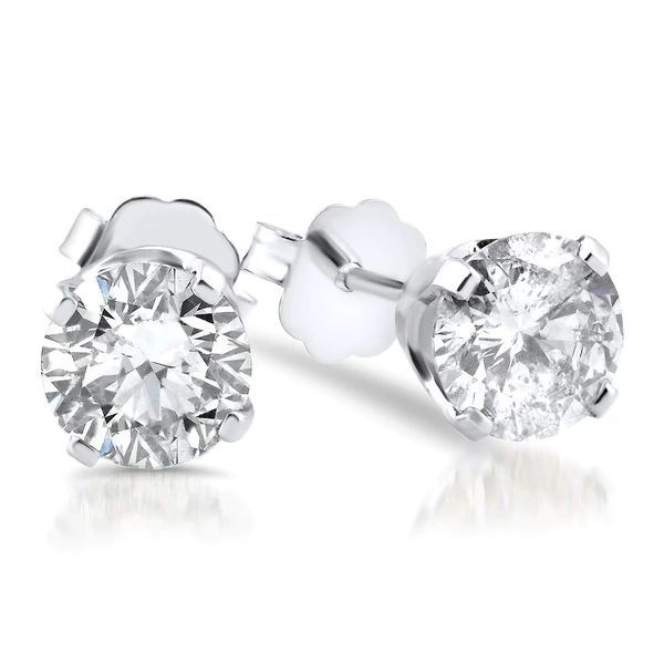 Diamond Stud Earrings Blue Water Jewelers Saint Augustine, FL