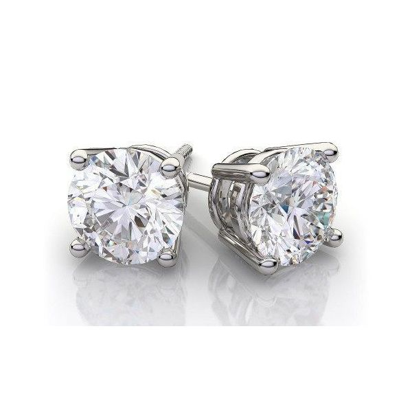 Diamond Earring Blue Water Jewelers Saint Augustine, FL