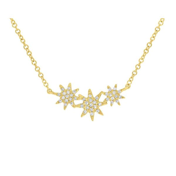 Stars Pendant Necklace Blue Water Jewelers Saint Augustine, FL