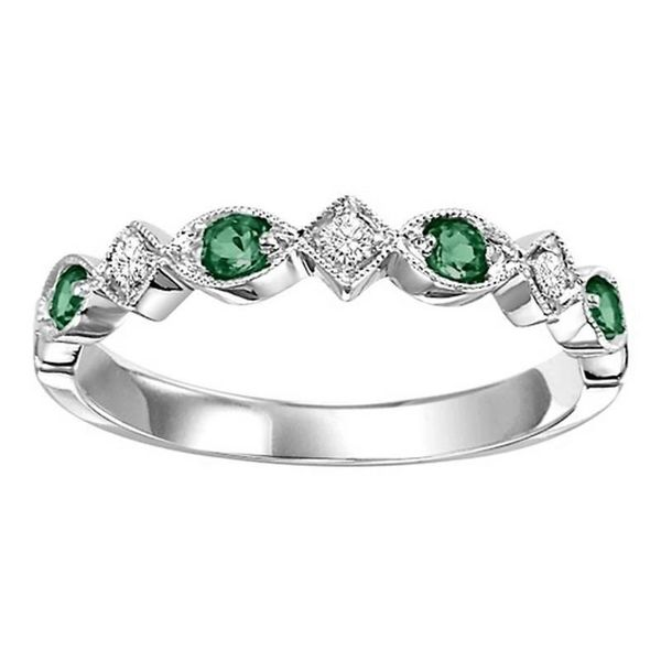 Emerald Ring Blue Water Jewelers Saint Augustine, FL