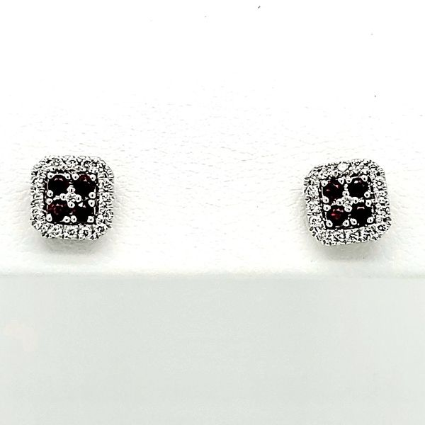 Ruby Earrings Blue Water Jewelers Saint Augustine, FL