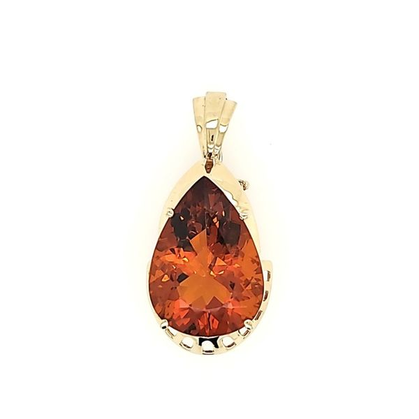 Citrine Enhancer Pendant Blue Water Jewelers Saint Augustine, FL
