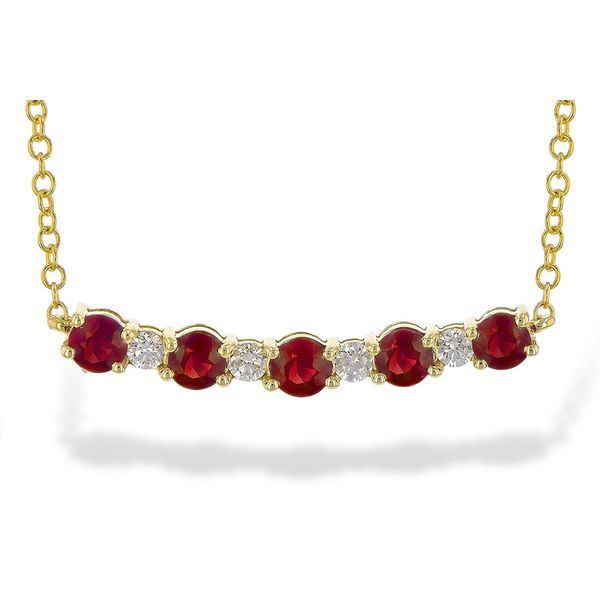 Ruby Necklace Blue Water Jewelers Saint Augustine, FL