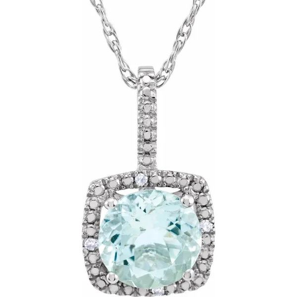 Sterling Silver Necklace Blue Water Jewelers Saint Augustine, FL