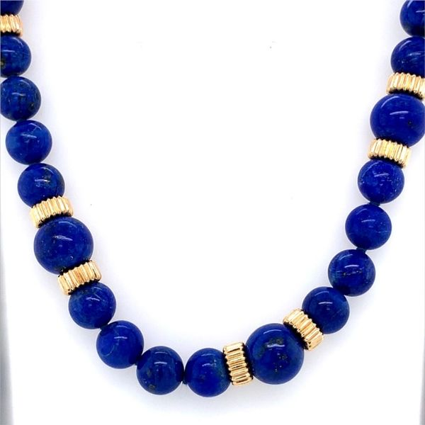 Blue Lapis Necklace Blue Water Jewelers Saint Augustine, FL