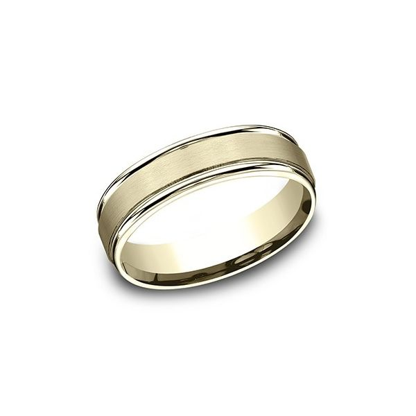 Gold Wedding Band Blue Water Jewelers Saint Augustine, FL
