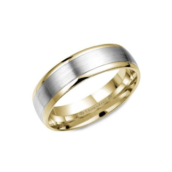 Gold Wedding Bands-Men's Blue Water Jewelers Saint Augustine, FL