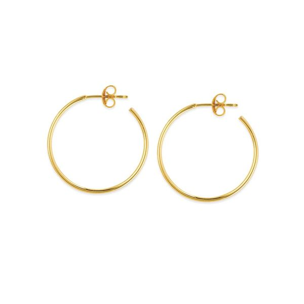 Hoop Earrings Blue Water Jewelers Saint Augustine, FL
