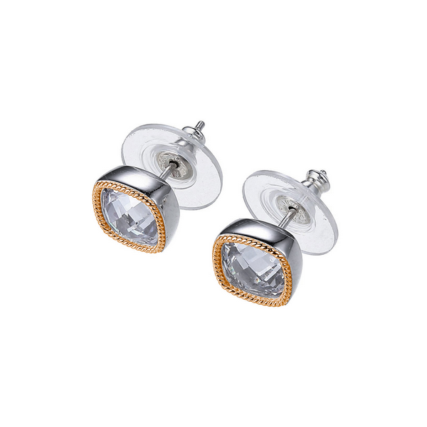 CZ Stud Earrings Blue Water Jewelers Saint Augustine, FL
