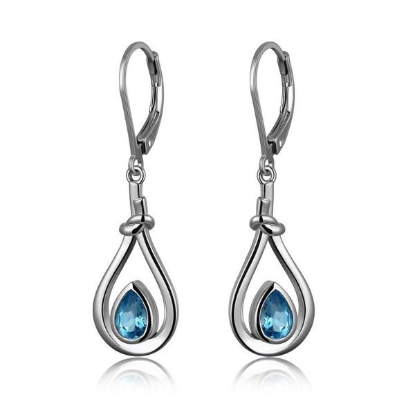 Sterling Silver Earrings Blue Water Jewelers Saint Augustine, FL
