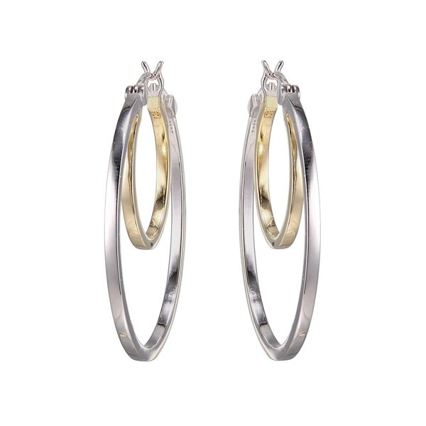Double Hoop Earrings Blue Water Jewelers Saint Augustine, FL