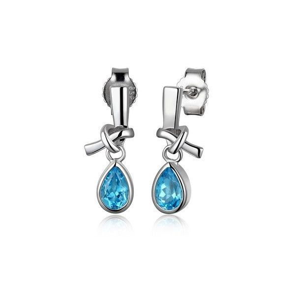 Topaz Earrings Blue Water Jewelers Saint Augustine, FL