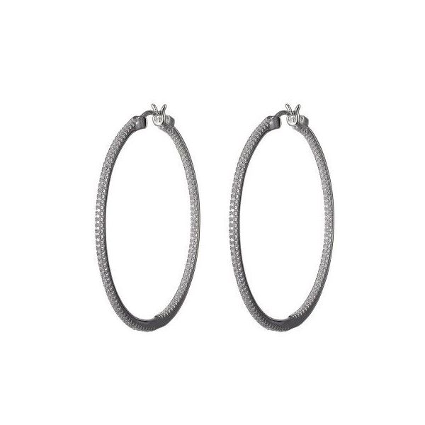 Inside/Outside Hoop Earrings Blue Water Jewelers Saint Augustine, FL