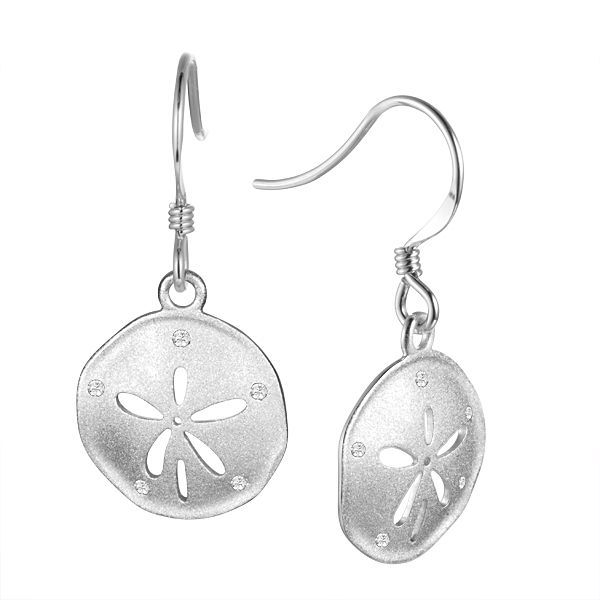 Sand Dollar Earrings Blue Water Jewelers Saint Augustine, FL