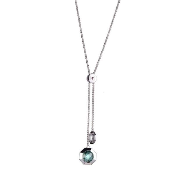 Sterling Silver Lariat Pendant Blue Water Jewelers Saint Augustine, FL