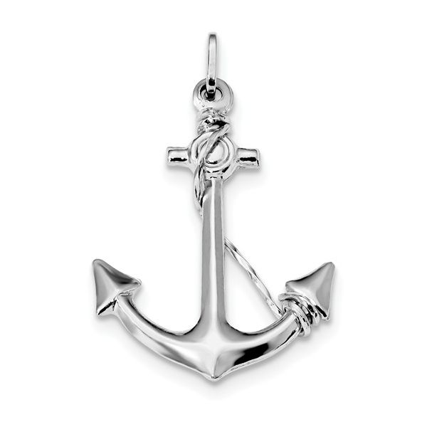 Anchor Pendant Blue Water Jewelers Saint Augustine, FL