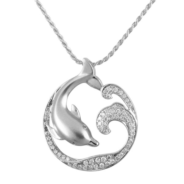 Dolphin Pendant Blue Water Jewelers Saint Augustine, FL