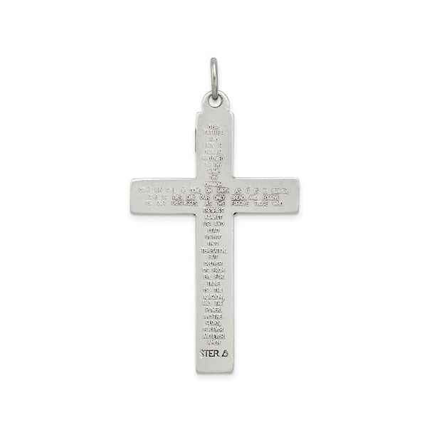 INRI Crucifix Cross With The Lords Prayer Image 2 Blue Water Jewelers Saint Augustine, FL