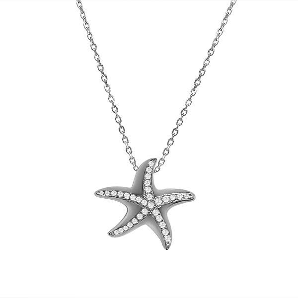 Starfish Pendant Blue Water Jewelers Saint Augustine, FL