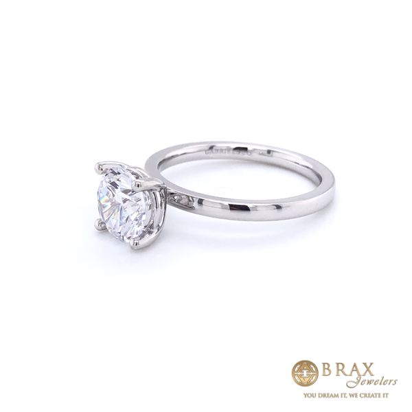Engagement Ring Setting Only Image 2 Brax Jewelers Newport Beach, CA