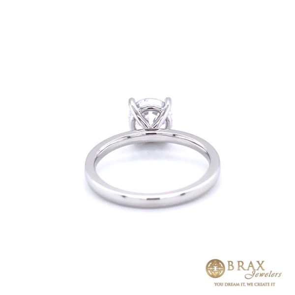 Engagement Ring Setting Only Image 3 Brax Jewelers Newport Beach, CA