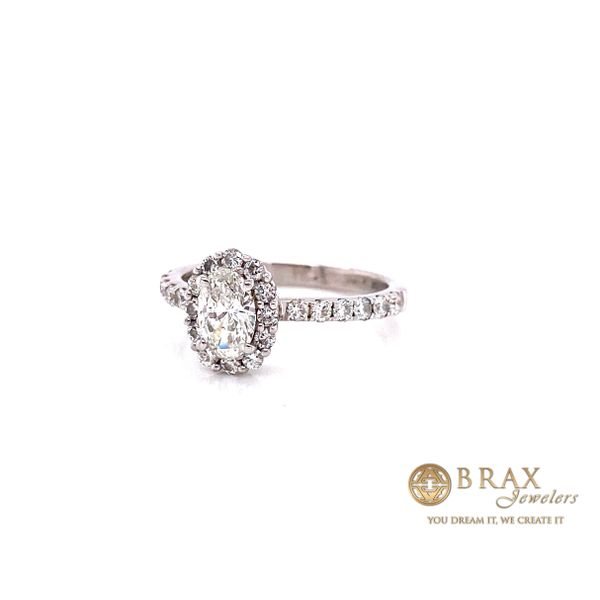 Engagement rings with center stone Image 2 Brax Jewelers Newport Beach, CA