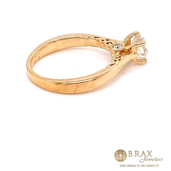 Engagement rings with center stone Image 3 Brax Jewelers Newport Beach, CA