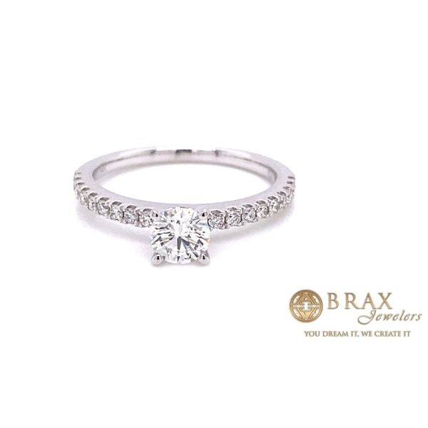 Engagement rings with Lab Grown center stone Image 4 Brax Jewelers Newport Beach, CA