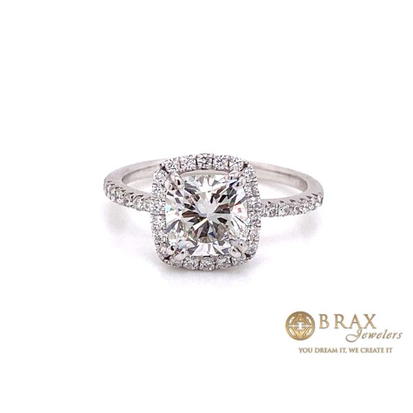 Engagement rings with Lab Grown center stone Brax Jewelers Newport Beach, CA