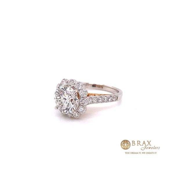 Engagement rings with Lab Grown center stone Image 2 Brax Jewelers Newport Beach, CA