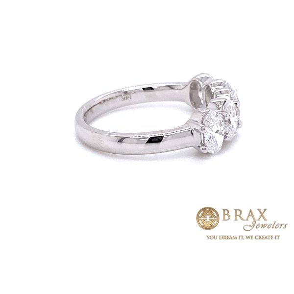 Lab Grown Diamond Wedding Bands Image 3 Brax Jewelers Newport Beach, CA