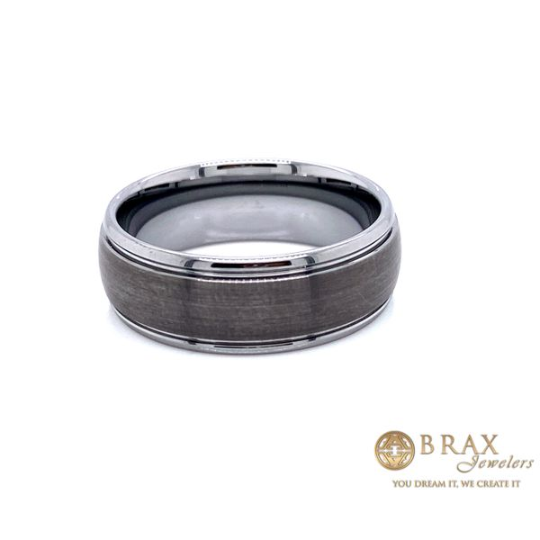 Men's Alternative Metal Wedding Band Brax Jewelers Newport Beach, CA