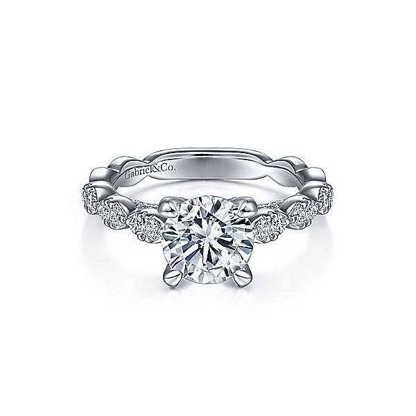 Diamond Semi-Mount Ring R. Bruce Carson Jewelers, Inc. Hagerstown, MD