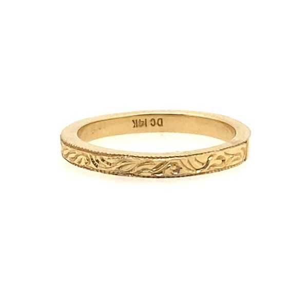 Women's Gold Wedding Band R. Bruce Carson Jewelers, Inc. Hagerstown, MD
