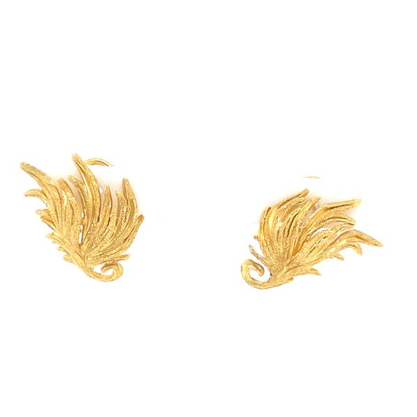 Gold Earrings R. Bruce Carson Jewelers, Inc. Hagerstown, MD