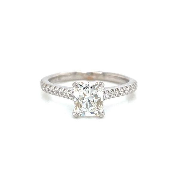 Radiant Diamond Solitaire Engagement Ring Carter's Jewelry, Inc. Petal, MS