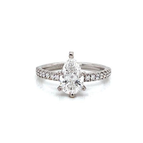 Pear Diamond Solitaire Engagement Ring Carter's Jewelry, Inc. Petal, MS