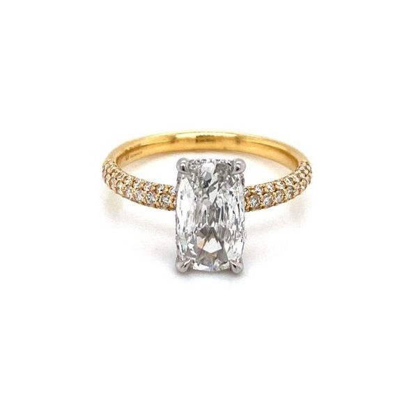 Pear Diamond Pave Solitaire Engagement Ring Carter's Jewelry, Inc. Petal, MS