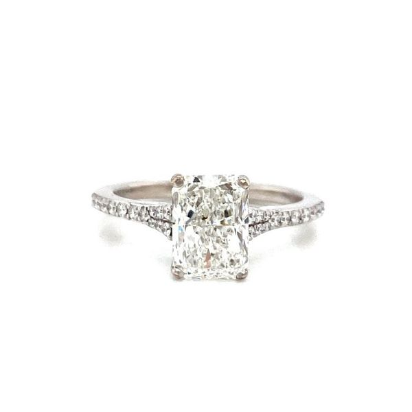 Radiant Cut Diamond Solitaire Engagement Ring Carter's Jewelry, Inc. Petal, MS
