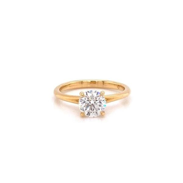Forevermark Round Diamond Solitaire Engagement Ring Image 2 Carter's Jewelry, Inc. Petal, MS