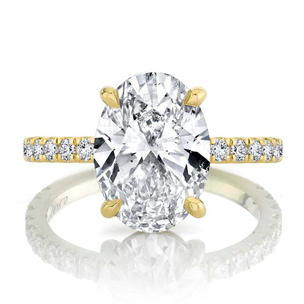 Iris Oval Cut Lab Grown Diamond Engagement Ring Image 2 Carter's Jewelry, Inc. Petal, MS