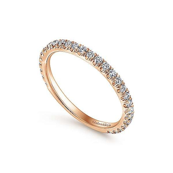 Straight Diamond Stackable/Wedding Band Image 3 Carter's Jewelry, Inc. Petal, MS
