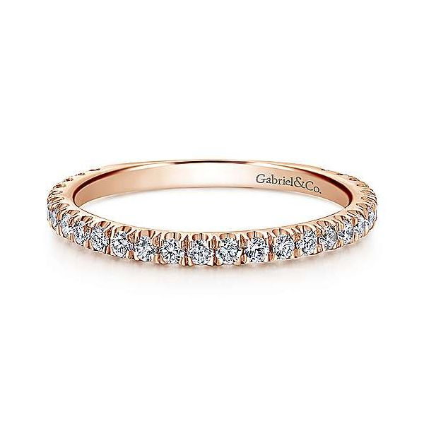 Straight Diamond Stackable/Wedding Band Image 2 Carter's Jewelry, Inc. Petal, MS