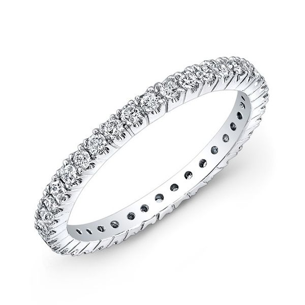 Straight Round Diamond Eternity Stackable/Band Carter's Jewelry, Inc. Petal, MS