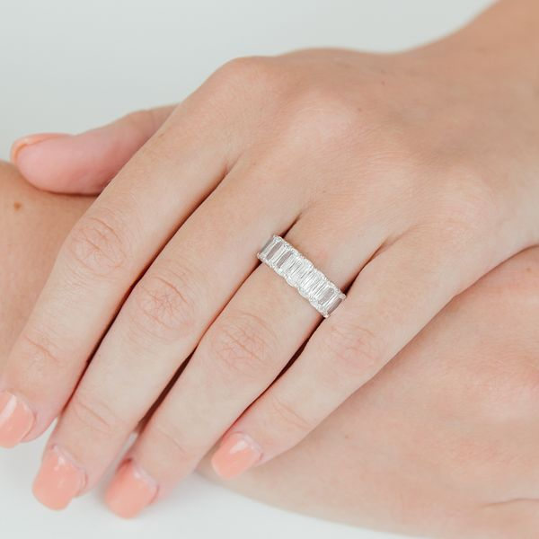 Christopher Designs L'Amour Crisscut Diamond Anniversary Band Carter's Jewelry, Inc. Petal, MS